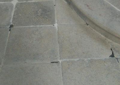Oprava kamenné dlažby