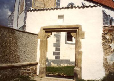 Rekonstrukce klášterní brány