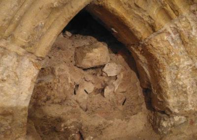 Kamenný portál - záchrana parléřovské gotiky